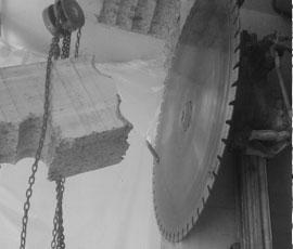 Corte de hormigón con disco