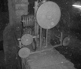 Corte de hormigón armado con hilo 2