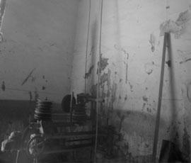 Corte de hormigón armado con hilo 3