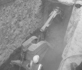 Demolición con robot y servicios accesorios