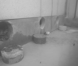 Perforaciones de hormigón y Taladros en hormigón